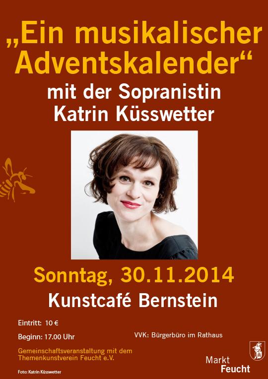 Poster 'Musikalischer Adventskalender'