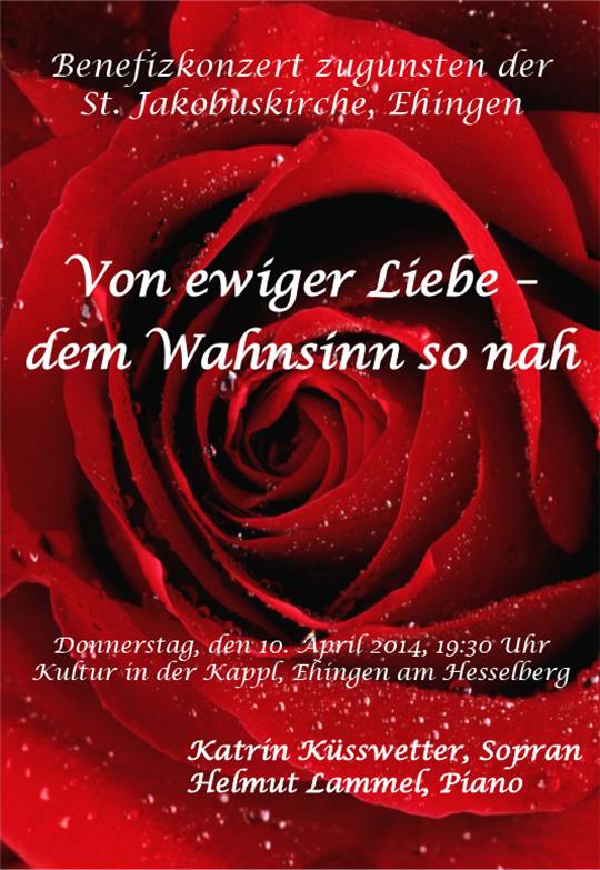 Poster 'Von ewiger Liebe - dem Wahnsinn so nah'